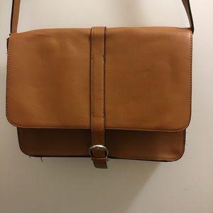 Light brown Forever 21 Crossbody Handbag